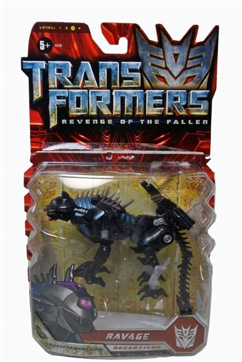 Transformers Hasbro Of The Fallen Deluxe Class Ravage rotf ravage moc 100 complete