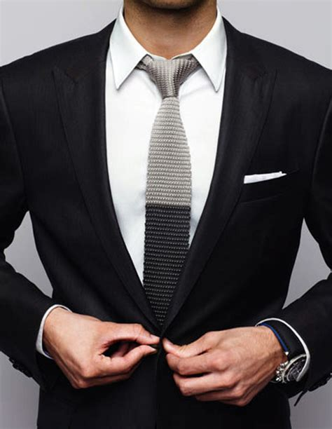knit tie with suit two tone knit tie tuxedo soletopia
