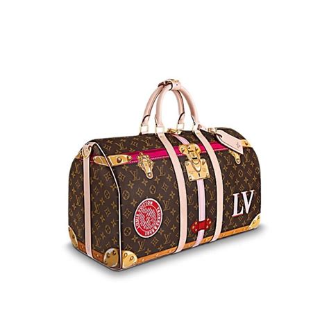 louis vuitton keepall  limited edition  sold  lv