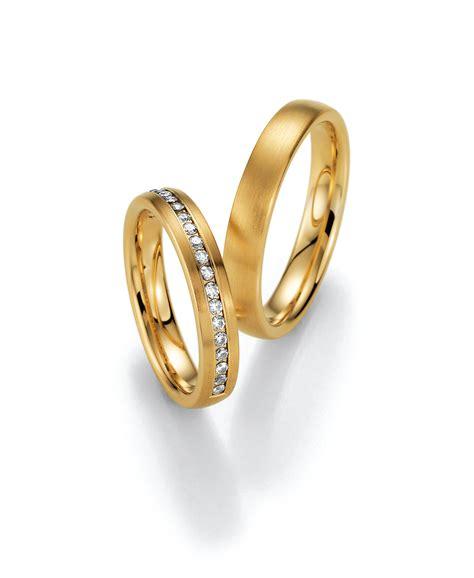 Trauringe Diamant by Trauringe Gelbgold Diamant O Schoen Juwelen