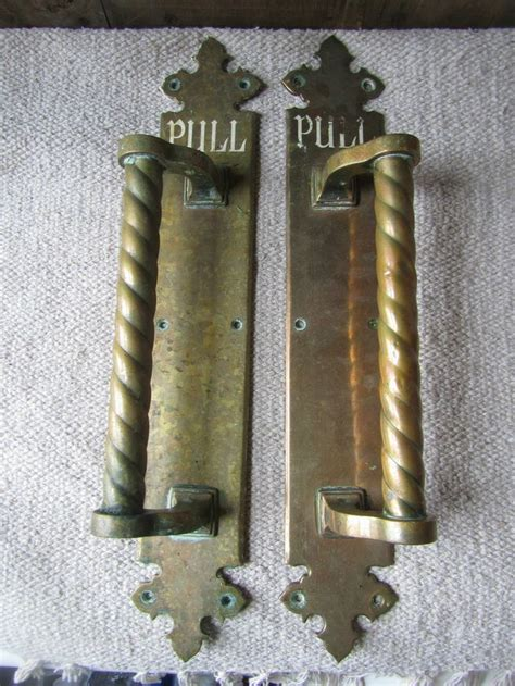 antique brass pulls antique door pull antique furniture