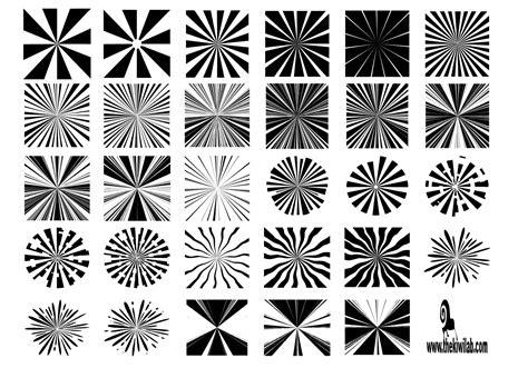 shape pattern psd 30 sunburst shapes free photoshop brushes at brusheezy