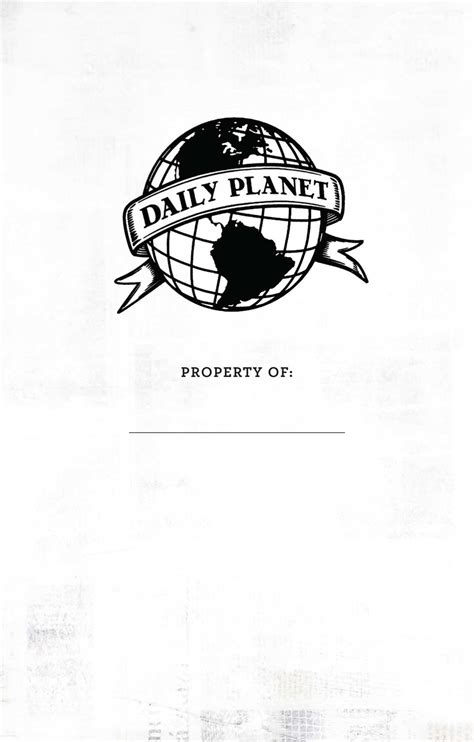 Superman: Daily Planet Ruled Pocket Journal | Book by