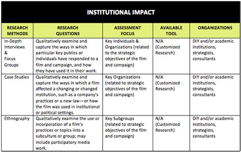 assessing the social impact of issues focused