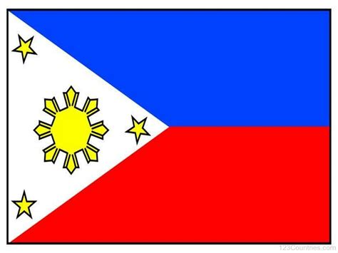 Or Philippines National Flag Of Philippines 123countries