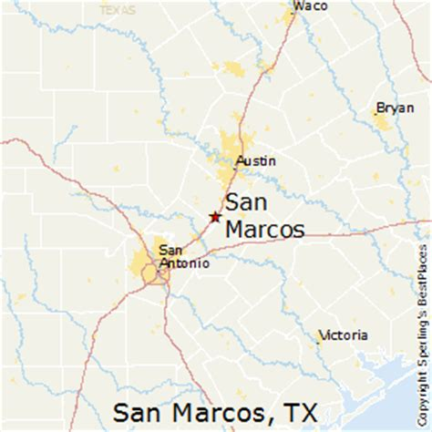 texas map san marcos comparison san marcos texas el paso texas