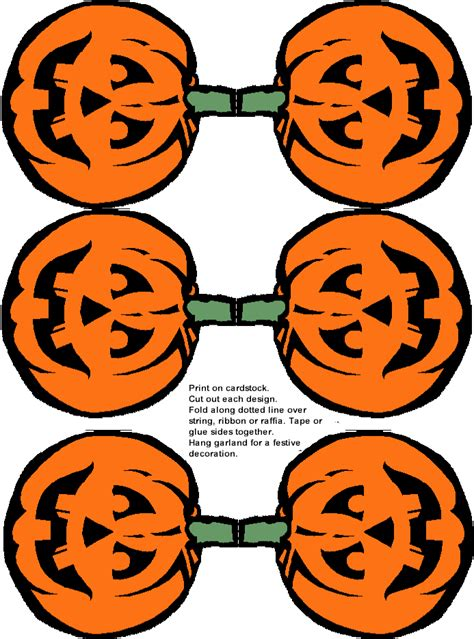 print out decorations pictures of pumpkins free clip