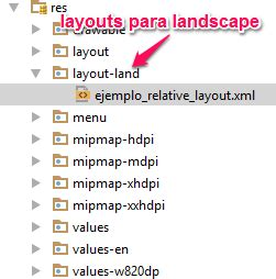 android studio add layout land tutorial de layouts en android