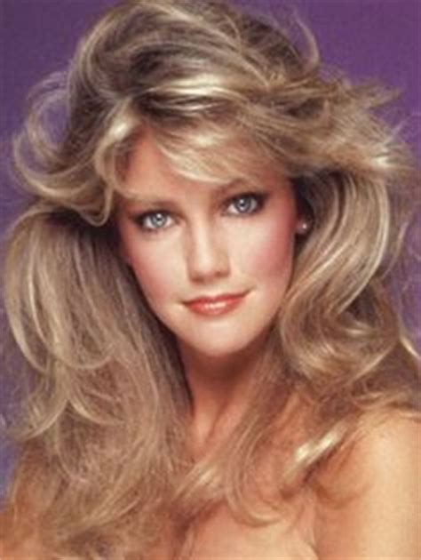 feathered hair 1980s heather locklear and ted mcginley as sammy jo and clay