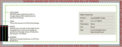 raffle ticket printing template gse bookbinder co
