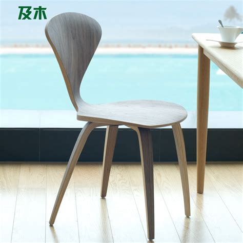 white oak wood chairs and wood furniture modern minimalist fashion creative