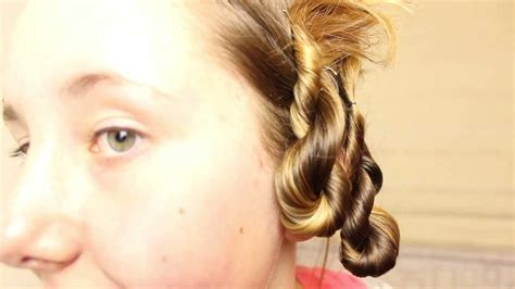 damage free hairstyles no heat youtube easy no heat overnight curls beachy waves bubbleshair