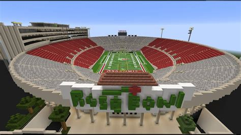 How To Make A Football Stadium Out Of Paper - bowl stadium ucla bruins football minecraft