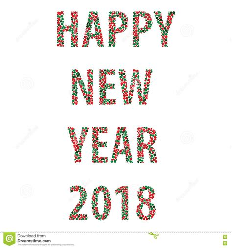 new year 2018 period happy new year bubbles 2018 stock vector image 81039914