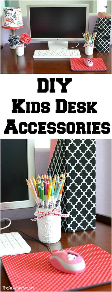 kid desk accessories diy desk accessories back to school
