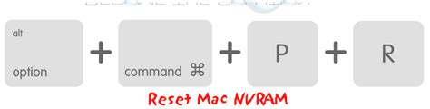 nvram reset osx easy reset mac nvram key combination