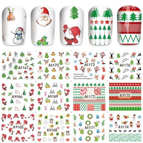Gelnagels Bestellen by Kerststickers 2 Nagelgroothandel Nagelproducten