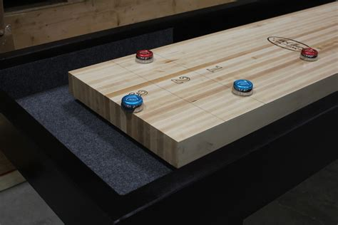 how is a shuffleboard table is your shuffleboard table s surface really 3