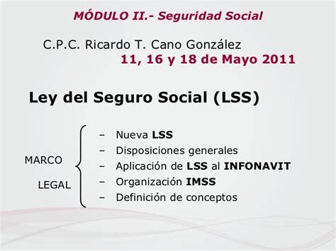regimen ley del infonavit presentaci 243 n modulo ii