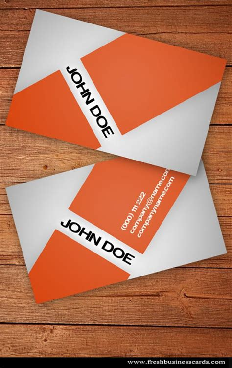 free orange travel business card templates 43 best free business card templates jayce o yesta