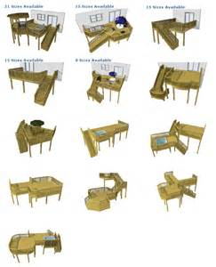 Deck plan pictures are courtesy of decks com to purchase deck plans