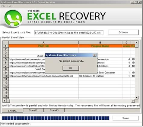 excel data recovery software free download full version download excel file repair shareware software excel file
