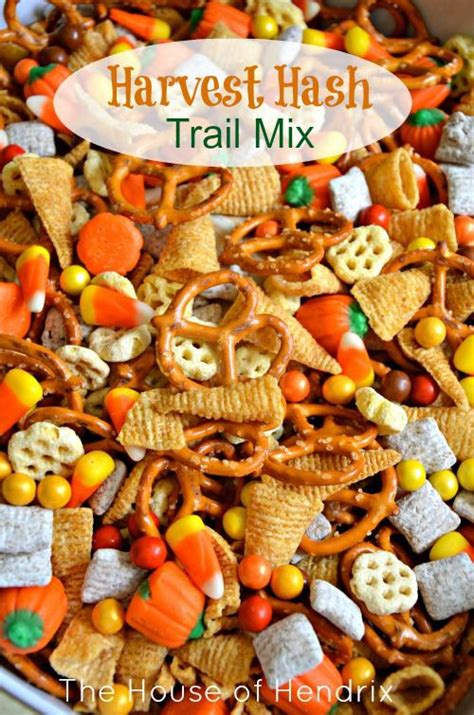 themes mix wedding theme harvest hash halloween trail mix