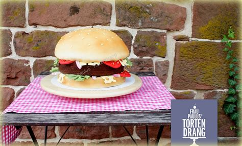 Hochzeitstorte Pizza by Hamburger Torte Mit Anleitung Hamburger Cake Tutorial
