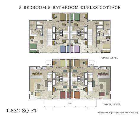 floor plans for 5 bedroom homes beautiful 5 bedroom duplex house plans home plans design