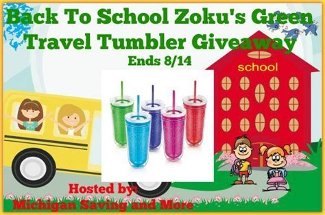 Travel Giveaway - cassandra m s place zoku s green travel tumbler giveaway
