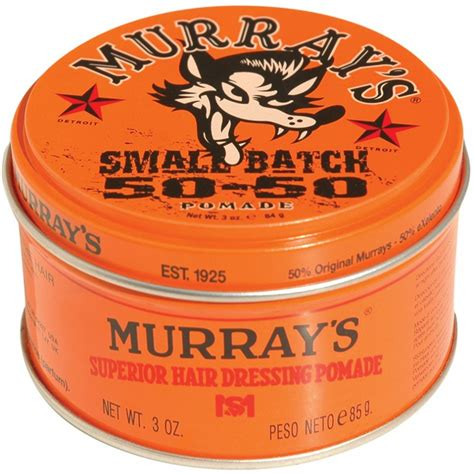 Murray Superlight Pomade Muray Light Pomadehairstylestyling murray s light pomade hair dressing light 3 oz hair wax for