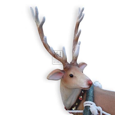 reindeer statue themes prop hire 187 animals 187 antler reindeer statue