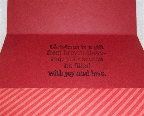 Gift Cards To Money - 3 handcrafted christmas greeting cards deigned to hold picture gift card money