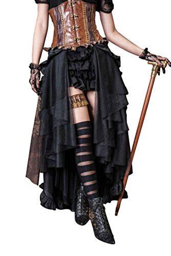 Steampunk Dress Gothic Clothing Pirate Costume Retro
