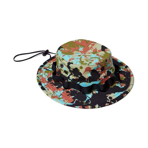 Raised Peace Of raised by wolves speckle peace camo boonie hat caps