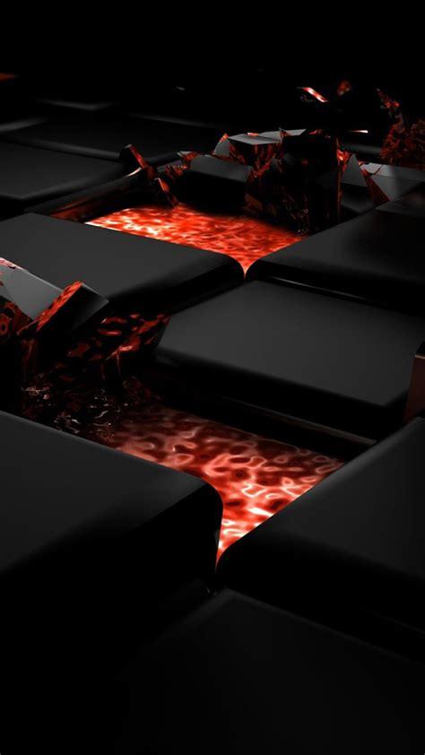 red  black  creative design hd iphone   iphone