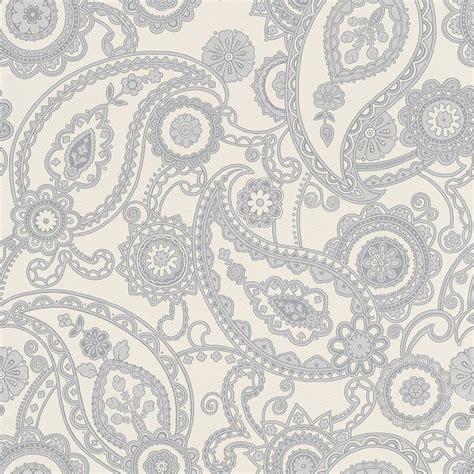 Grey Wallpaper Paisley | grey paisley wallpaper wallpapersafari
