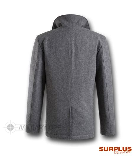 Jaket Pea Coat Navy Original U S A surplus vintage us navy style pea p coat jacket coat wool