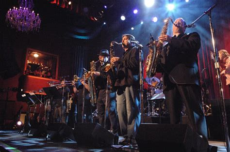 tower of power horn section tower of power returns to san jose with old school funk r