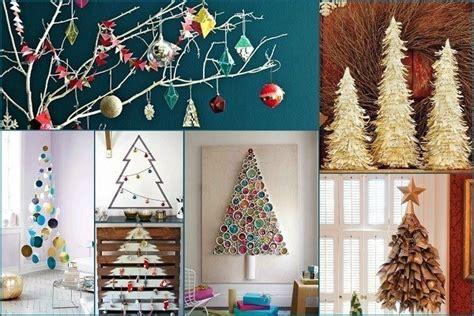 21 creative unusual alternative christmas tree ideas