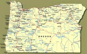 map of cities in oregon show me oregon towns