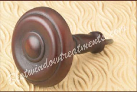 wooden curtain tie backs rosette wooden curtain tie back