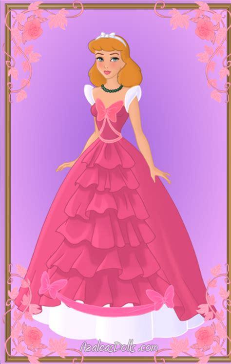 Drizella Green Dress cinderella pink dress redone again by kawaiibrit on