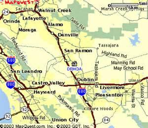 san ramon california map map of deer ridge homeowners association
