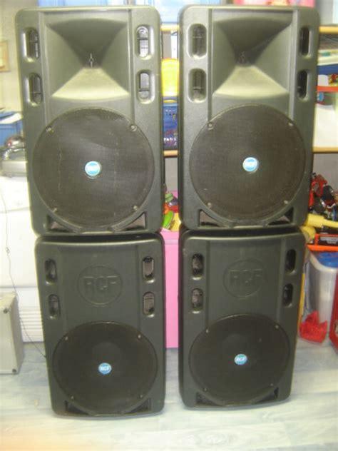 Speaker Aktif Rcf 500 rcf 500 a image 254631 audiofanzine
