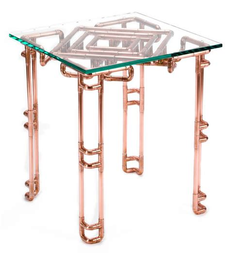 Copper Pipe Table by 15 Must See Copper Table Pins Copper Interior Copper