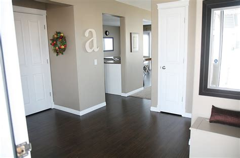 dark wood floors with light gray walls and white trim grey walls with dark hardwood floors best paint colors