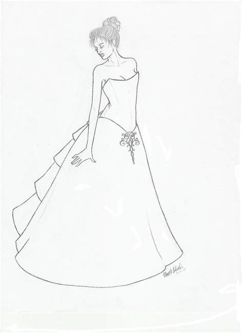 coloring page girl in dress coloring pages girls dresses