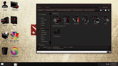 themes for windows 8 1 dota 2 dota2 iconpack for win7 8 8 1 10 skinpack customize