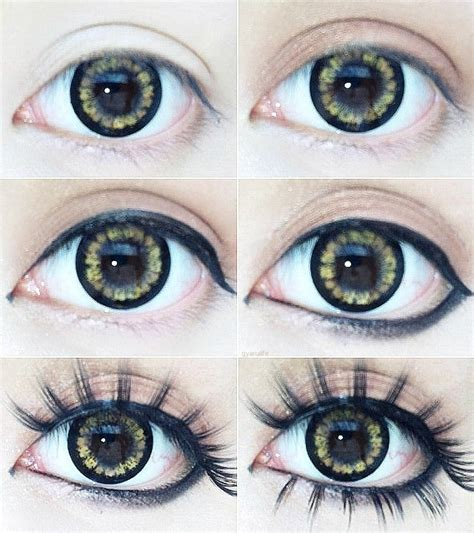 eyeliner tutorial round eyes useful how to draw perfect eye liners pretty designs